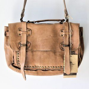 Patricia Nash Cadiz Messenger Italian Leather Bag